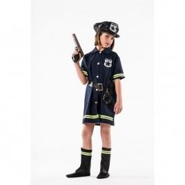 Disfraz niña policia