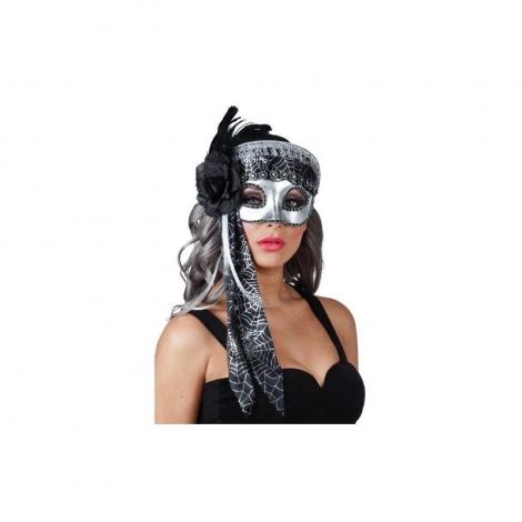 Antifaz mujer plata