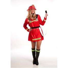 Disfraz chica bombera