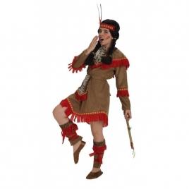 Disfraz niña bebe india