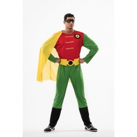 Disfraz super robin batman adulto