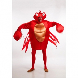 Disfraz cangrejo río