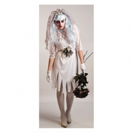Disfraz novia difunta