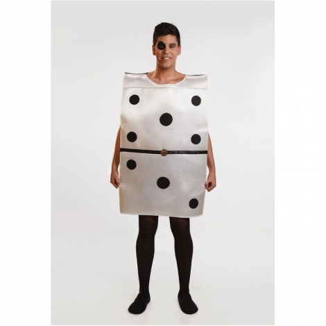 Disfraz pieza dominó