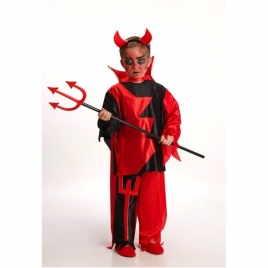 Disfraz demonio infantil completo