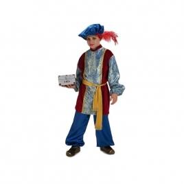 Disfraz paje Gaspar infantil
