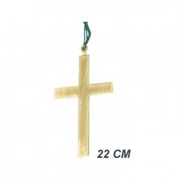 Cruz madera disfraz