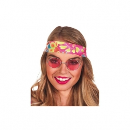 Gafas hippy color rosa
