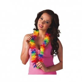 Collar fiesta hawaiana colores