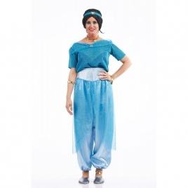 Disfraz jazmín azul