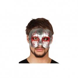 Máscara ensangrentada plata