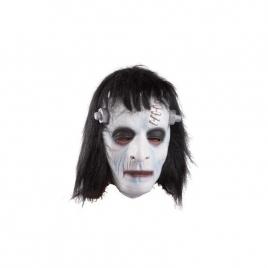 Máscara Frankenstein con pelo