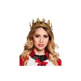 Corona reina dorada