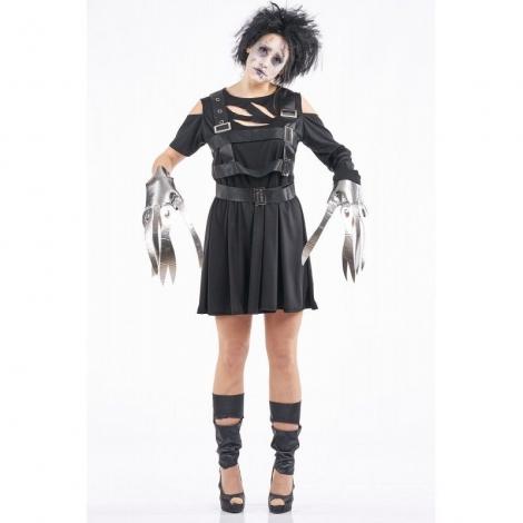 Disfraz mujer eduardo manos tijeras