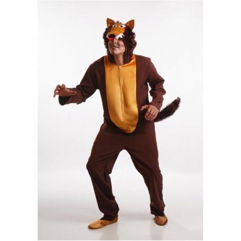 Disfraz adulto lobo