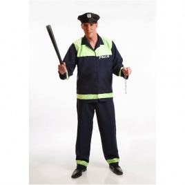 Disfraz adulto policia