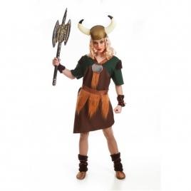 Disfraz mujer vikinga