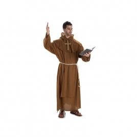Disfraz monje completo adulto