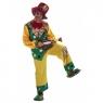 Disfraz payaso topos colores