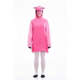 Disfraz cerdita rosa