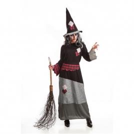 Disfraz bruja piruja mujer