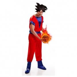 Disfraz dragon ball adulto