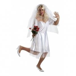 Disfraz novia masculino
