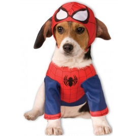 Disfraz Spiderman perro