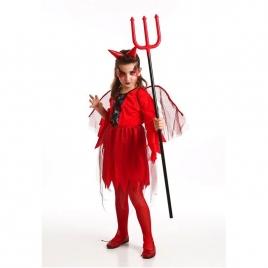 Disfraz diabla niña