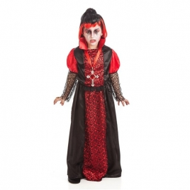 Disfraz vampira niña completo