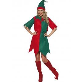 Disfraz mujer elfa