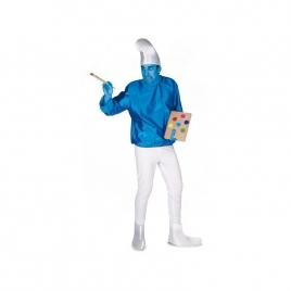 Disfraz enanito azul hombre