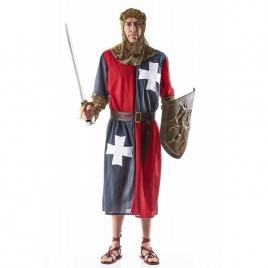 Disfraz medieval gris hombre