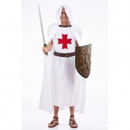 Disfraz templario blanco