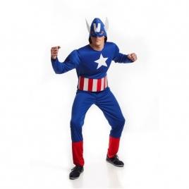 Disfraz adulto capitán américa