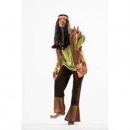 Disfraz hippy paz