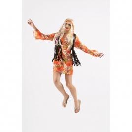 Disfraz hippy mujer