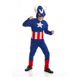 Disfraz capitán america