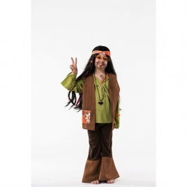 Disfraz infantil hippy